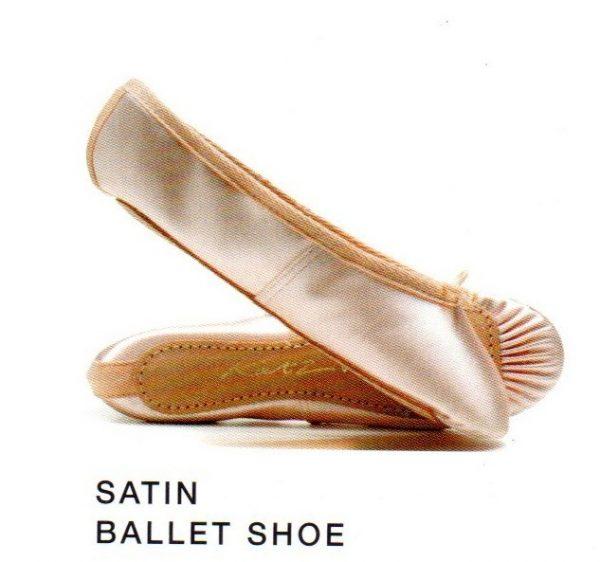 Satin Ballet Shoe