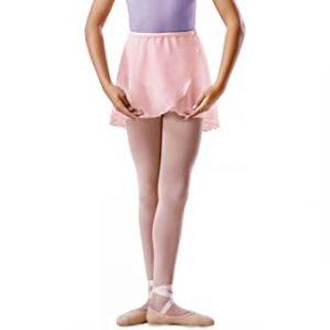Bloch Chiffon Wrap Skirt (Pink)