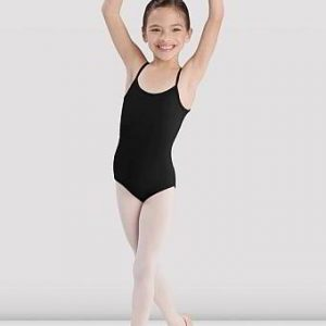 Bloch Camisole Leotard with Plain Front - Black