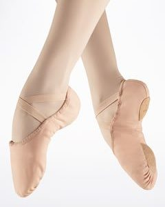 Bloch Canvas Split Sole Ballet Shoe (Pink)