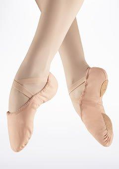 Bloch Canvas Split Sole Ballet Shoe (Pink)