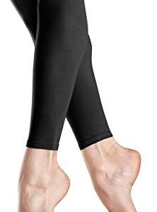 Bloch Endura Footless Leggings (Black)