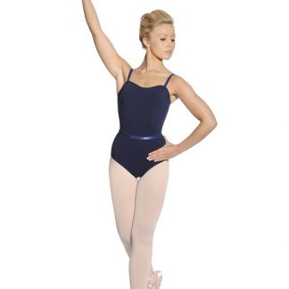 Cotton Lycra Camisole Leotard with Belt (Roch Valley)