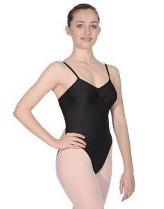 Lycra Camisole Leotard with Gathered Bust