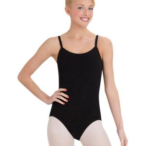 Capezio Camisole Leotard with Bratek (black)