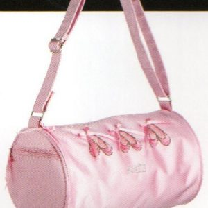 Pink Ballet Slipper Barrel Bag