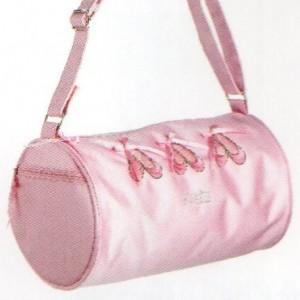 Pink Ballet Slipper Barrel Bag