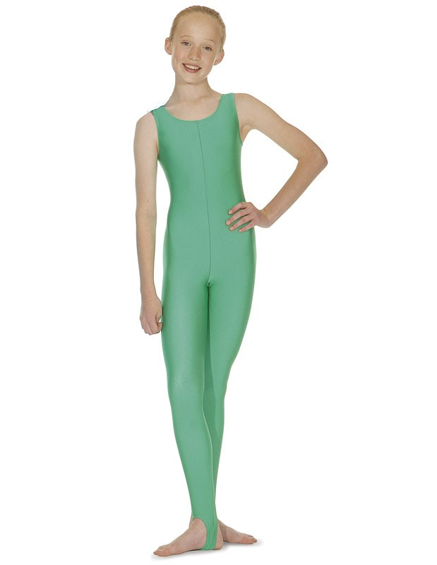 Cat Suit - Sleeveless with Plain Front