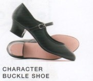 "Character Buckle Shoe with 1.5"" heel"