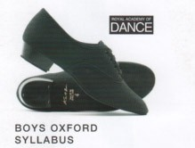Boys Oxford Syllabus