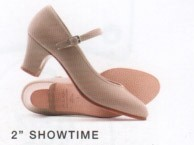 """Showtime"" Character shoe with 2 inch Heel"