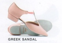Katz Leather Greek Sandal