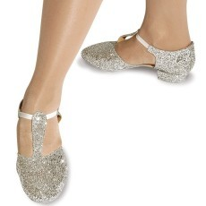 Roch Valley Silver Glitter Greek Sandal