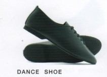 Jazz Shoe (Leather Upper/Rubber Sole)
