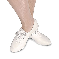 Jazz Shoes - Micro Soles (White)