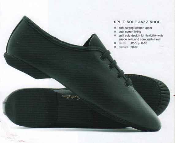 Split Sole Jazz Shoe
