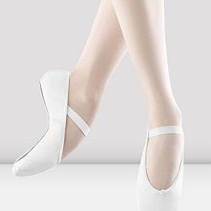 Leather Ballet Shoe (White)