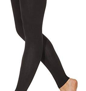 Men's Footless Leggings (Black)