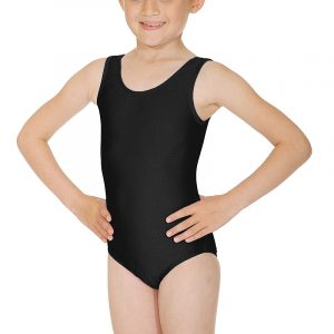 Roch Valley Sleeveless Leotard (Black)