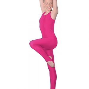 Roch Valley cat suit - sleeveless (raspberry)