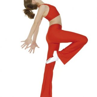 Bootleg Jazz Pants (Red)