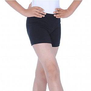 Boys Cotton/Lycra Shorts (Black)