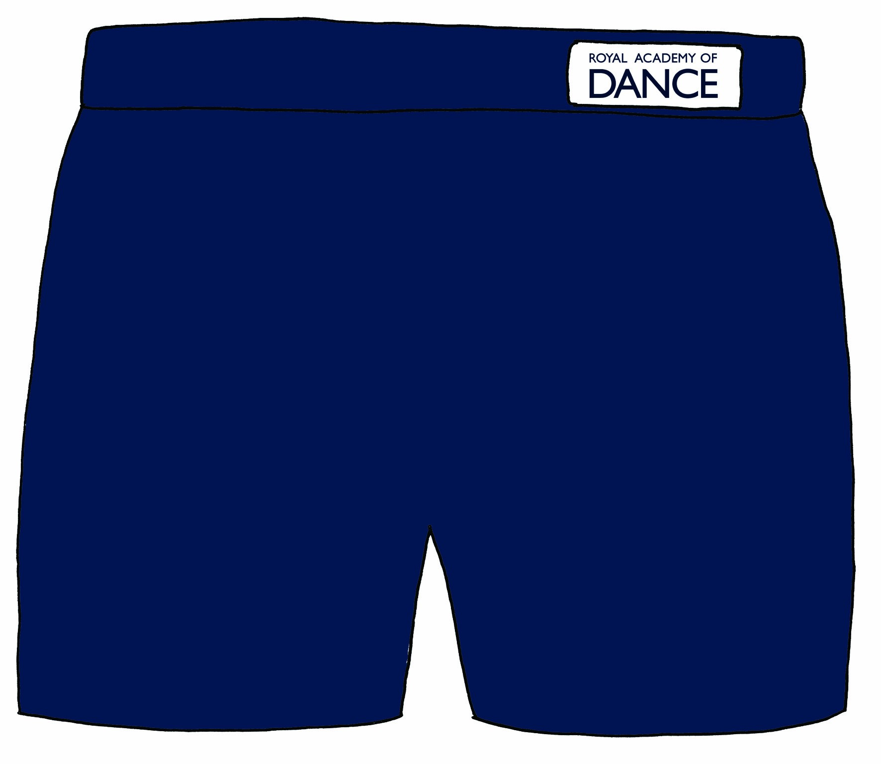 Freed Boys' Shorts with RAD Logo
