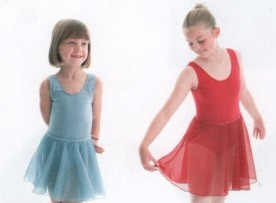 ISTD Sleeveless Cotton Lycra Leotard