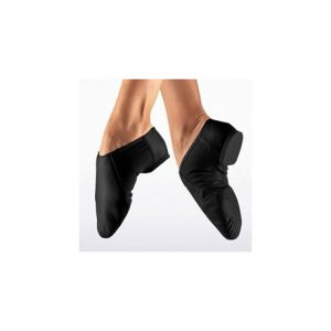 Só Dança Slip-on Jazz Shoes - Black