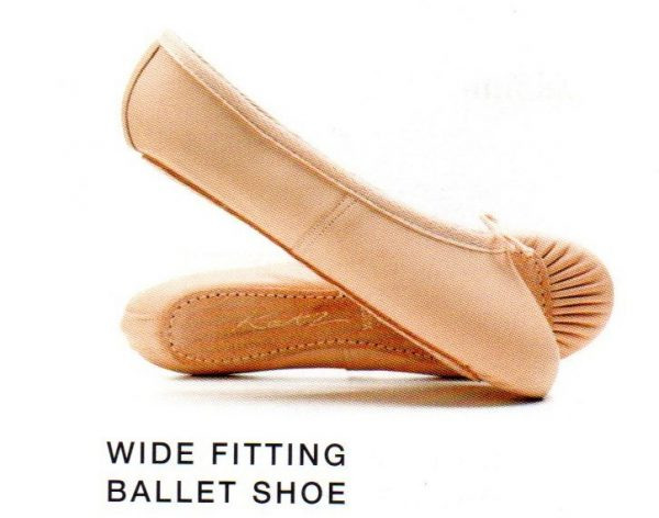 Leather Ballet Shoe (Wide Fitting)